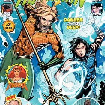 Steve Orlando Tom Taylor Pop Mhan V Ken Marion and Sandu Florea Create New Aquaman Giant Comics