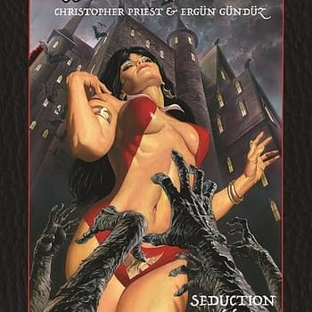 Collecting Christopher Priests Run on Vampirella in May
