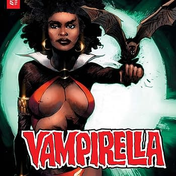 Extended Preview of Tomorrows Vampirella #8 Featuring Black History Month Variants