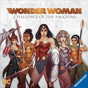 New Wonder Woman Board Game Releases March 2020