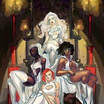Watch Meghan Hetrick Creating Red Sonja Vampirella Sacred Six Covers