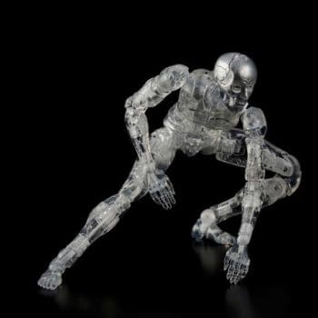 """""""Biomega"""" Synthetic Humans Come to Life with New Figures from 1000 Toys"""