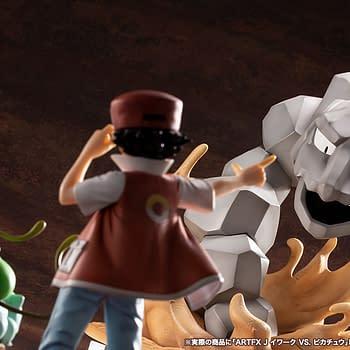 Pokemon Pikachu and Onix Battle with Kotobukiya