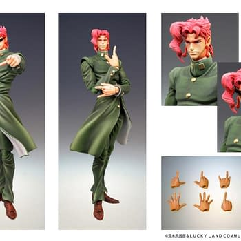 JoJos Bizarre Adventure Gets Two New Figures from Medicos