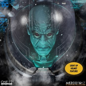Mr. Freeze Brings the Ice Age with New One:12 Mezco Toyz Figure