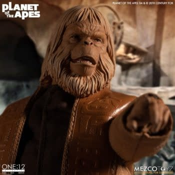 """Planet of the Apes"" (1968) Dr. Zaius Arrives at Mezco Toyz"