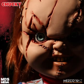 Chucky is Scarred and Wants Revenge with Mezco