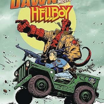 Mike Mignolas Hellboy Crosses Over With Steve Mannions Fearless Dawn