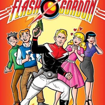 Archie Meets Flash Gordon in June, by Jeff Parker and Dan Parent