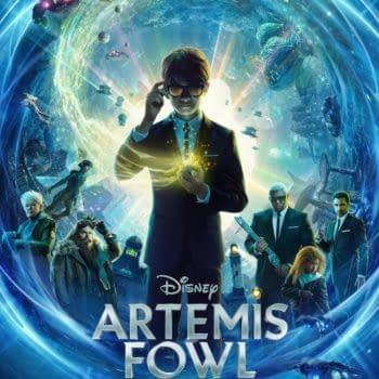 Artemis Fowl poster. Credit Disney