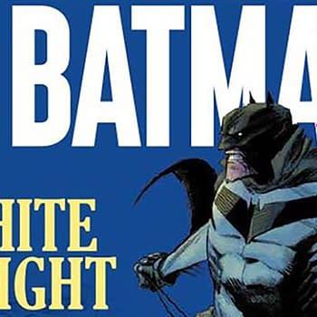 Sean Gordon Murphys Batman: White Knight Published on UK Newsstand