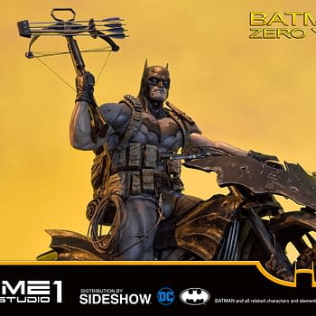 Batman Zero Year Statue Goes Exclusive With Sideshow