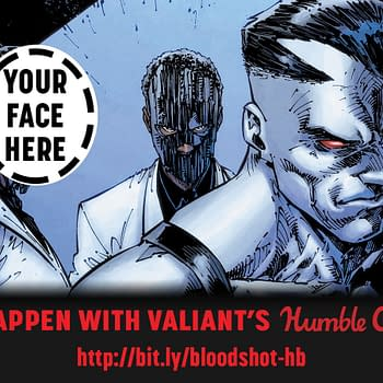 How Much Would You Pay to Be Drawn Into a Bloodshot Comic