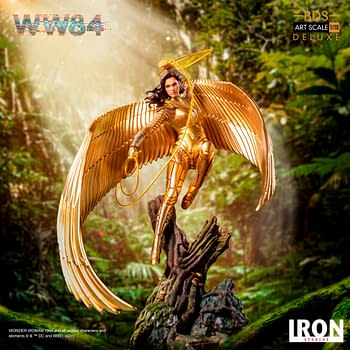 Wonder Woman is Golden in the New Iron Studios Statue