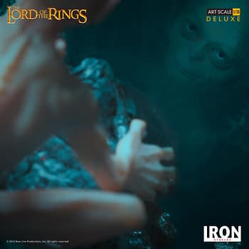 Gollum Wants His Precious with New Iron Studios Statue