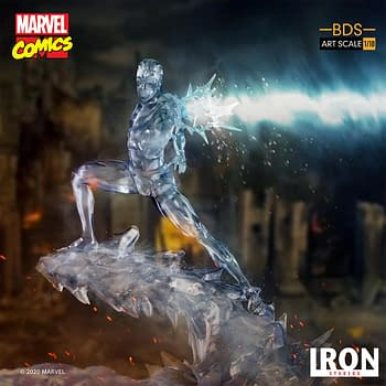 Iceman Is on His Own With New Iron Studios X-Men Statue