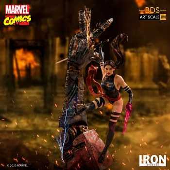 Psylocke Enters the Fight with New Iron Studios Statue
