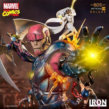 Marvel Comics X-Men Vs Sentinel #3 Statue Lands at Iron Studios