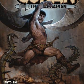 Conan Does the Crucible&#8230 an X-Men Crossover Conan the Barbarian #14 [Preview]