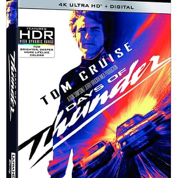 Days of Thunder Coming to 4K Blu-ray on May 19th