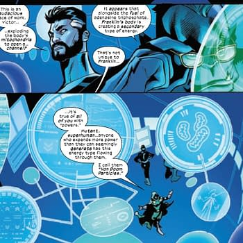 Doctor Doom Gets All Star Wars-Midi-Chlorian In X-Men/Fantastic Four #3