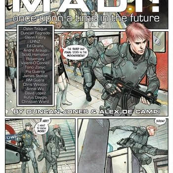 Duncan Jones Next Project is a Graphic Novel Titled Madi