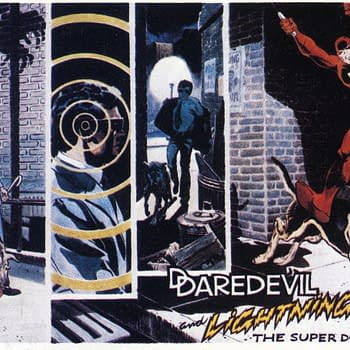 The Frank Miller Cover That Killed The Daredevil and Dog Cartoon