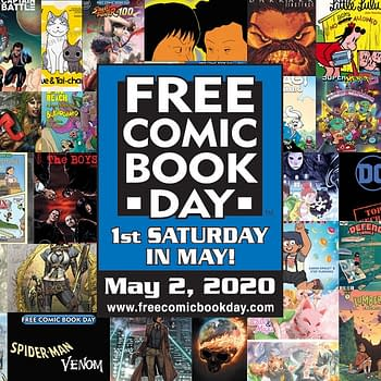 Free Comic Book Day Now Covers The Whole Of May Not Just One Day (UPDATE: Now Postponed)
