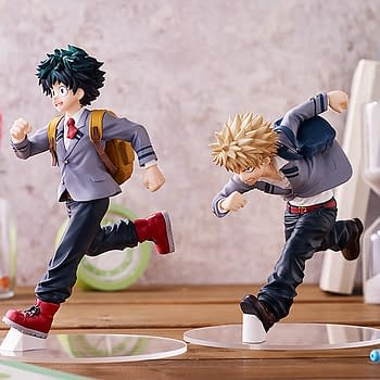 My Hero Academia Classmates Are Late for Class with Good Smile