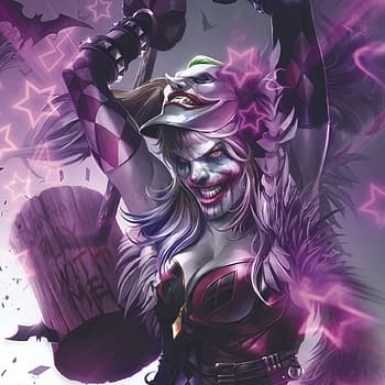 DC Pits Harley Quinn Against Punchline in Francesco Mattina Batman Variants
