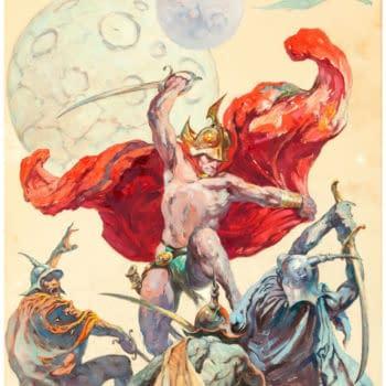 Frank Frazetta Original Artwork, Up for Auction at Heritage – From Glenn Danzig