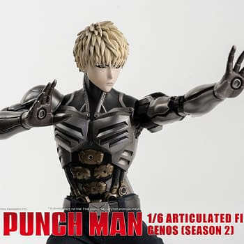 One Punch Man Genos Brings His A Game with Threezero