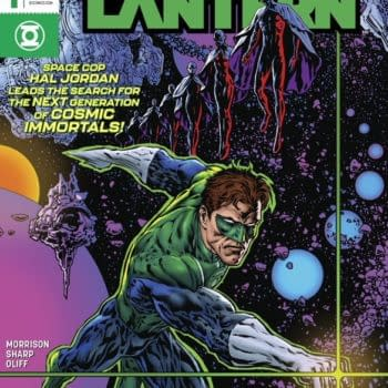 The Green Lantern: Season Two Restored to 12 Issues From Grant Morrison and Liam Sharp
