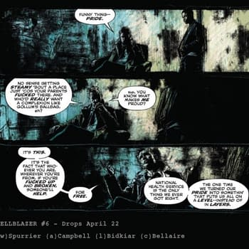 John Constantine Praises the NHS in the Next Issue of Hellblazer