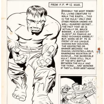 Jack Kirby Original Artwork, Up for Auction at Heritage