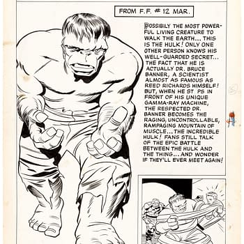 Jack Kirby Original Artwork Up for Auction at Heritage