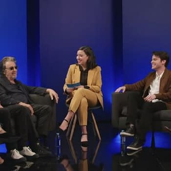 Hunters: Al Pacino Logan Lerman Jerrika Hinton &#038 More On Bringing Depth Meaning to Grindhouse Vibe [VIDEO]