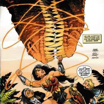 The Joe Kubert School – Spring Open House and Ads on the Back of DC Comics Today