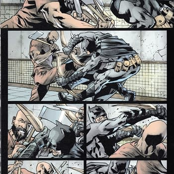 Alfred Pennyworth Murderer in The Batmans Grave #6 from Warren Ellis and Bryan Hitch