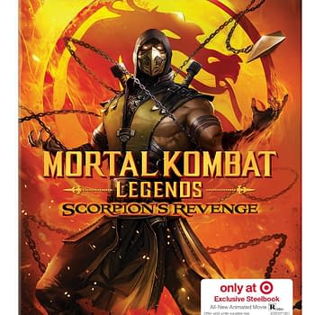 Mortal Kombat: Scorpions Revenge Gets Target Exclusive Steelbook