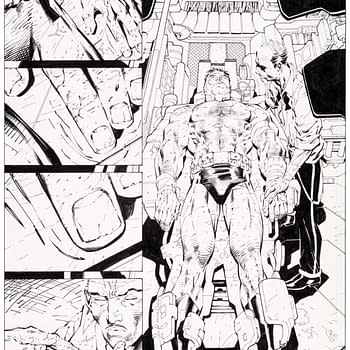 Jim Lee Original Artwork Up for Auction at Heritage &#8211 For Batman: Hush and Stan Lee