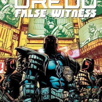 REVIEW: Judge Dredd False Witness #1 &#8212 High-Grade Science Fiction