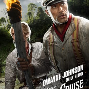 """""""Jungle Cruise"""": New Trailer Tomorrow, His and Her Posters"""