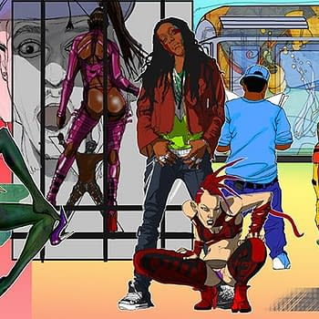 Micah BlackLight &#038 His Unconventionally Trippy Black Erotica LER