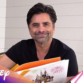 John Stamos Reads Disney Storybook A Kiss Goodnight