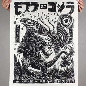 Second Godzilla Poster Drop From Mondo Happens Tuesday