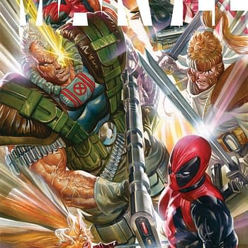 Alex Ross Homages Rob Liefeld &#8211 And What He Said About Him Before&#8230.