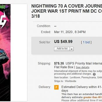 Insanely Nightwing #70 Hits $50 on eBay &#8211 Are We Going to Do This Again