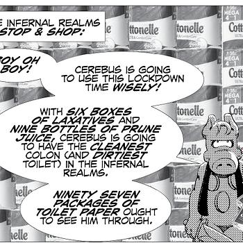 Dave Sim Publishes Free Coronavirus Cerebus In Hell Digital Comic