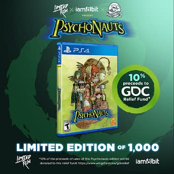 Psychonauts Limited Physical Edition Released To Help GDC Relief Fund